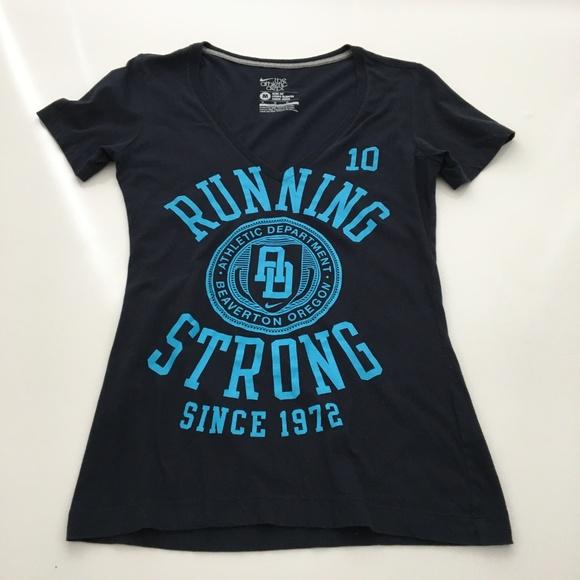 Nike Tops - Nike Running Strong Slim Fit Athletic Dept Medium